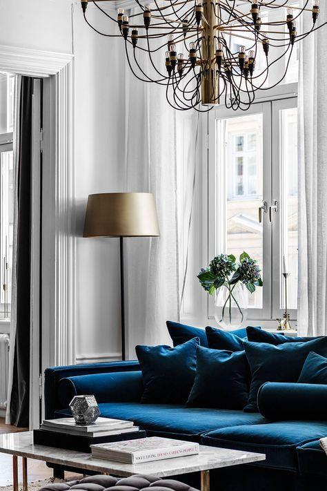 blue homes design