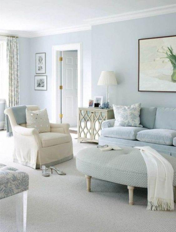 light blue for living room